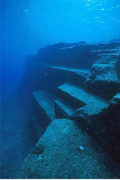 Photo Credit: Christie, B (2014). : [http://www.collective-evolution.com/2014/06/13/marine-geologist-unearths-a-supposed-10000-year-old-yonaguni-monument-dubbed-japanese-atlantis/]