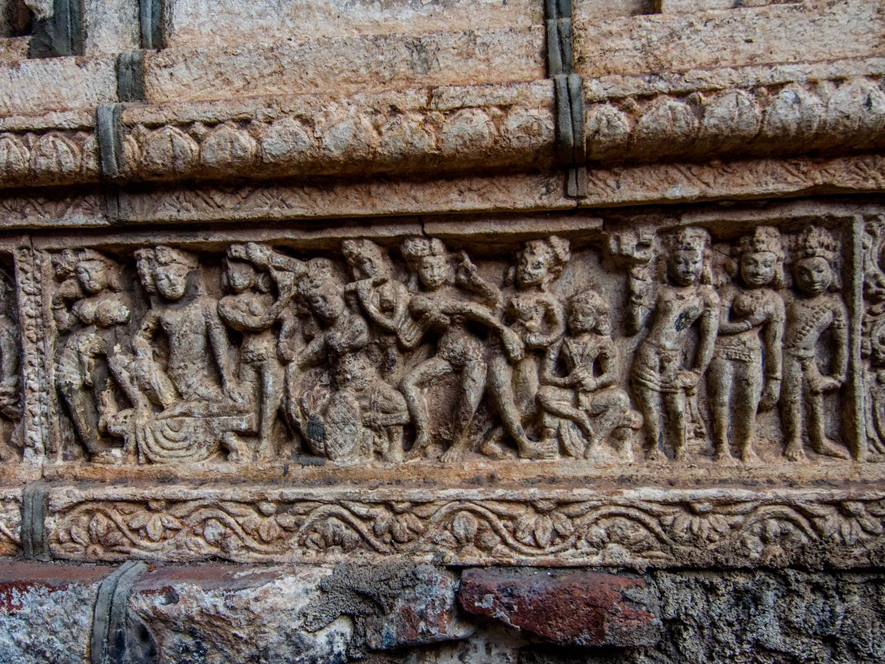 Carvings Badami Mahakuta