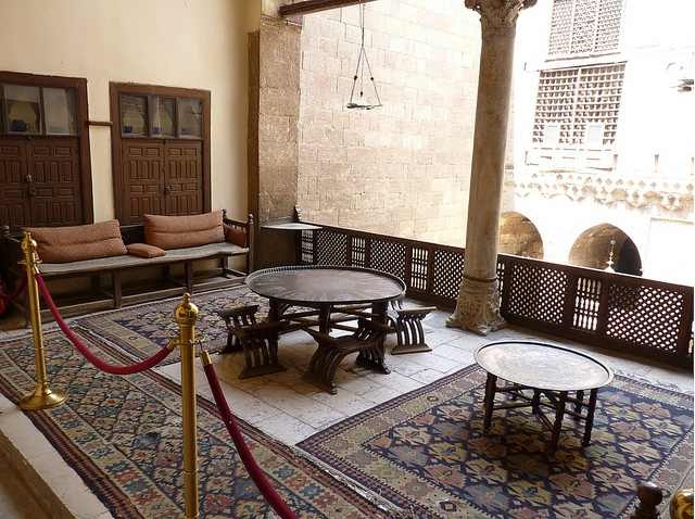 The reception hall Image taken from https://www.tripadvisor.com.sg/LocationPhotoDirectLink-g294201-d308828-i26184891-Gayer_Anderson_Museum_Bayt_al_Kiritliya-Cairo_Cairo_Governorate.html