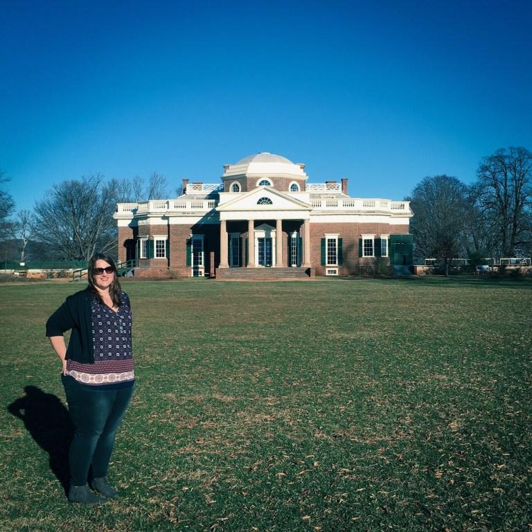 Stephanie Craig at Monticello
