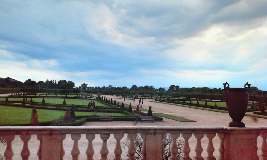 Garden of the Reggia di Venaria, Residences of the Royal House of Savoy, Venaria, Italy