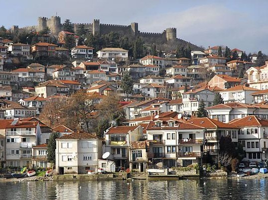 View of Old town-Varos in Ohrid Image Courtesy: http://www.tt-group.net/forum/viewtopic.php?t=709