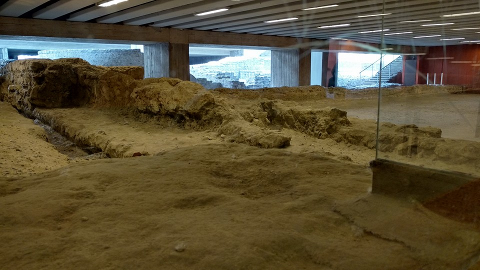 Excavations in the Subway at Florian Square/ 12.06.2016.