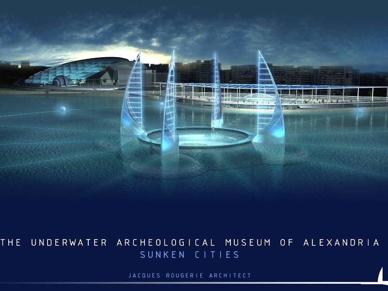 Design of Underwater Heritage Museum Design: ©Jacques Rougerie Photo credit: © UNESCO