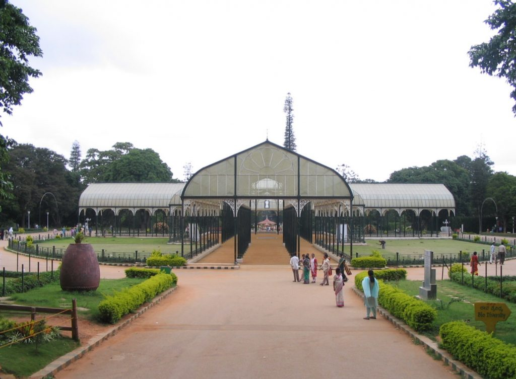 The entrance to the botanical garden Source: Flickr