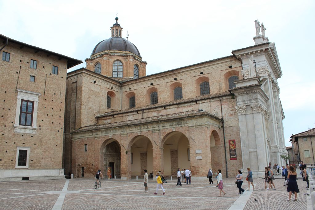 Urbino Cathedral and Palazzo Ducale