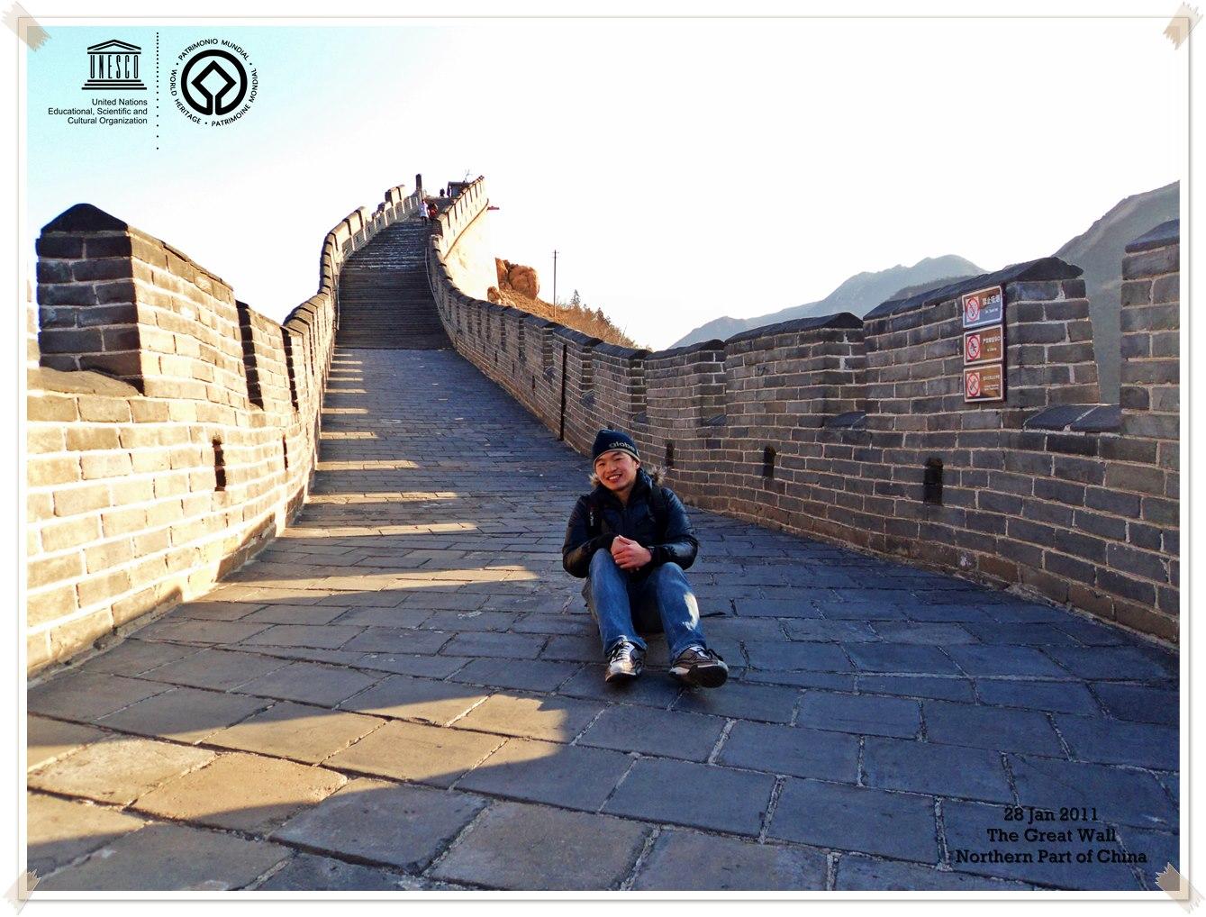 The great ... great wall The Great Wall - China Thomas shaw