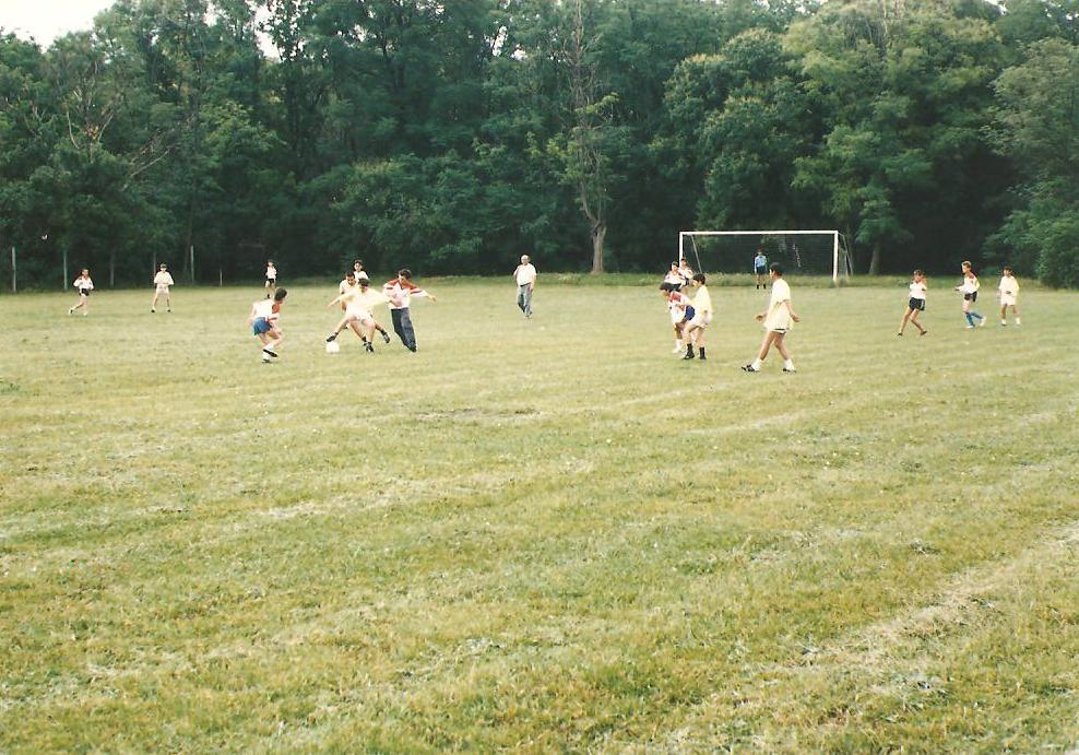 Photo from training,the nineties