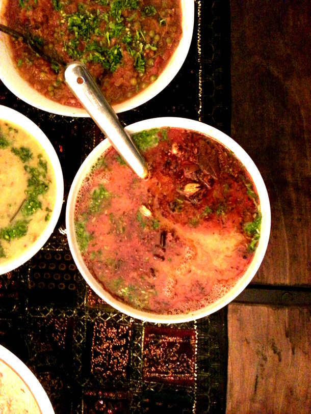 The spicy Paanchmel Daal
