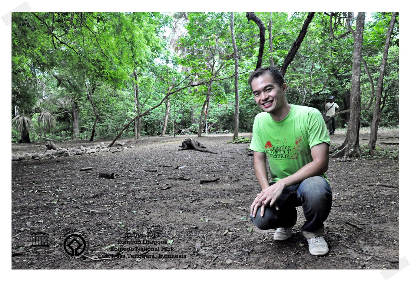 Komodo Giant Lizard Komodo National Park - Indonesia Thomas shaw