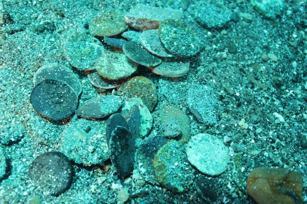 punic-coins-underwater