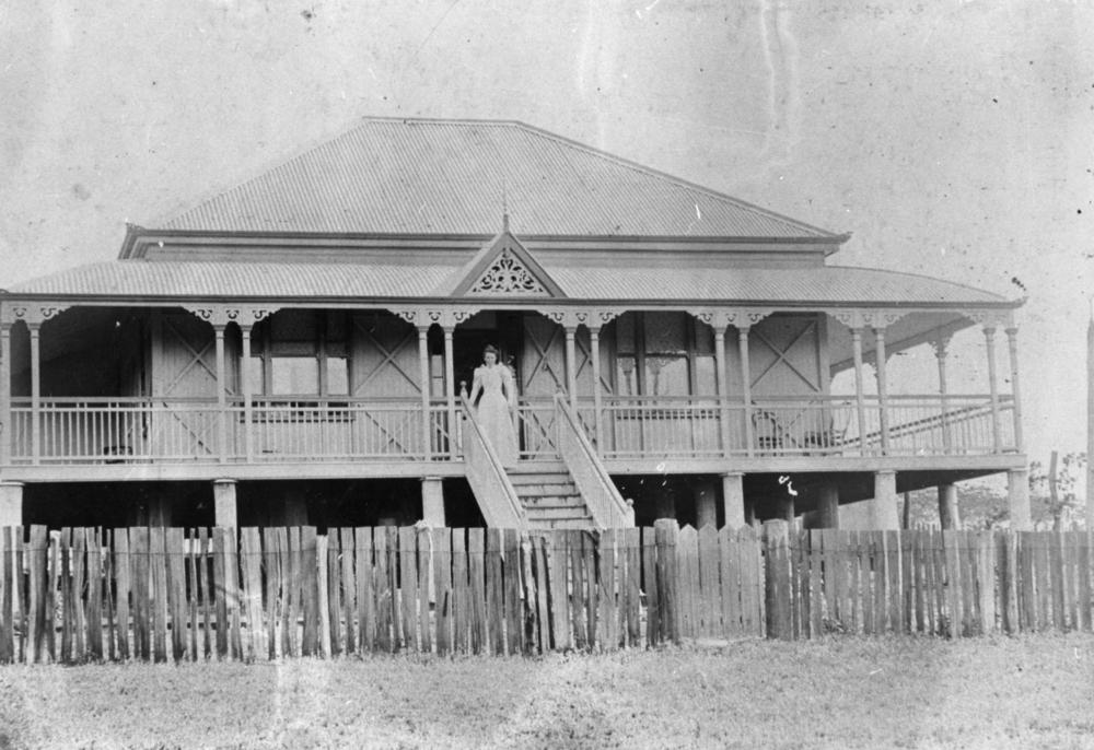 A typical Queenslander home, 1895. Source: John Oxley Library, State Library of Queensland