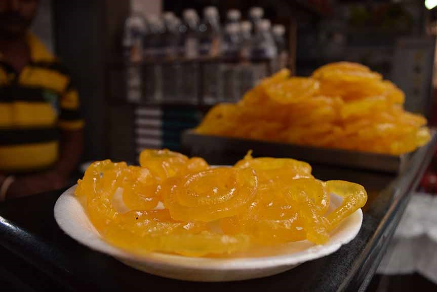 Bangalore food Hot Jalebis