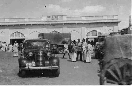 bangalore heritage market An old picture of Johnson market