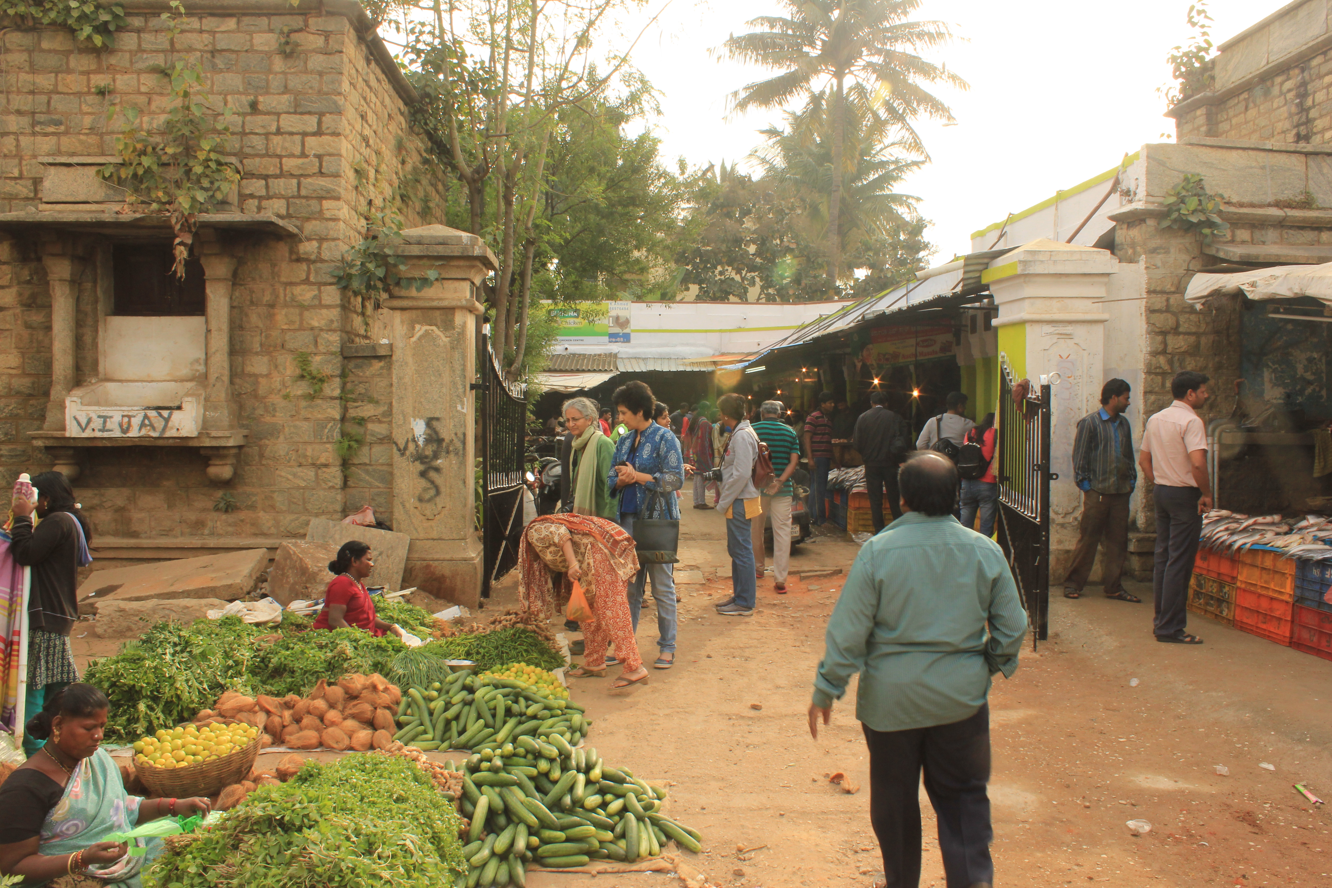 bangalore heritage market The Murphy town market now