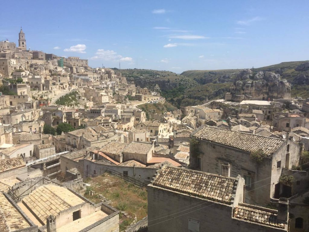 Matera: Town of cave-houses of Basilicata region in Italy.