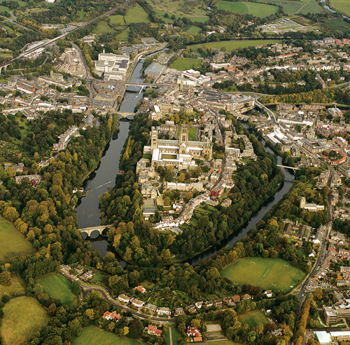 Durham World Heritage SIte Aerial View