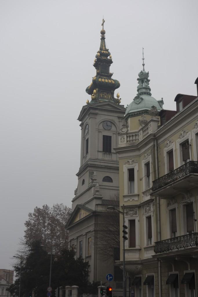 King Peter street Belgrade