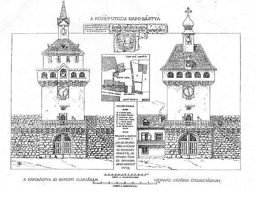 Gate Tower by L. Pákei