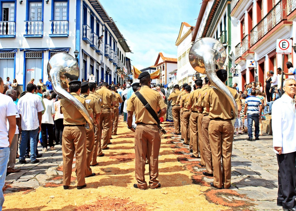 Celebrations in Holy Week, Diamantina Brazil. Photo by Juliana Silva.