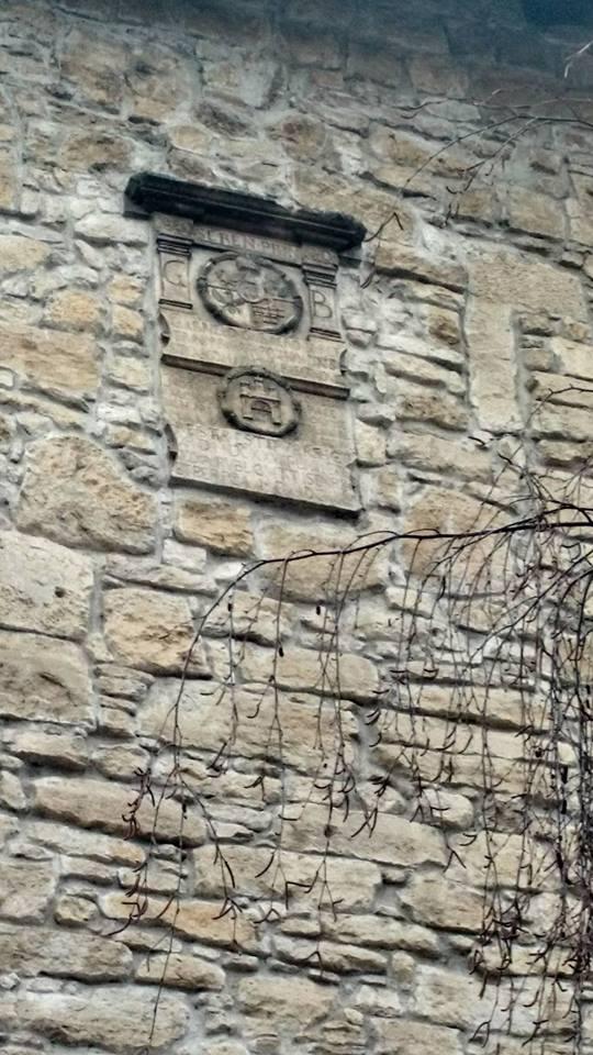 Memorial tablet, coat of arms Bethlen