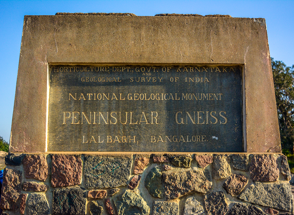 Peninsular Gneiss - Geological Monument