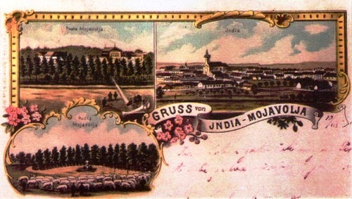 Postcard, end of the 19th century, from the collection of the city