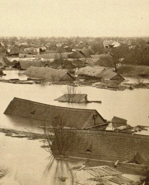 Flood in 1879