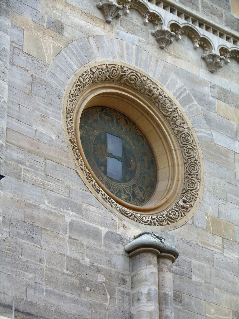 The limestone exterior of the Cathedral is a masterpiece of a truly detailed art.
