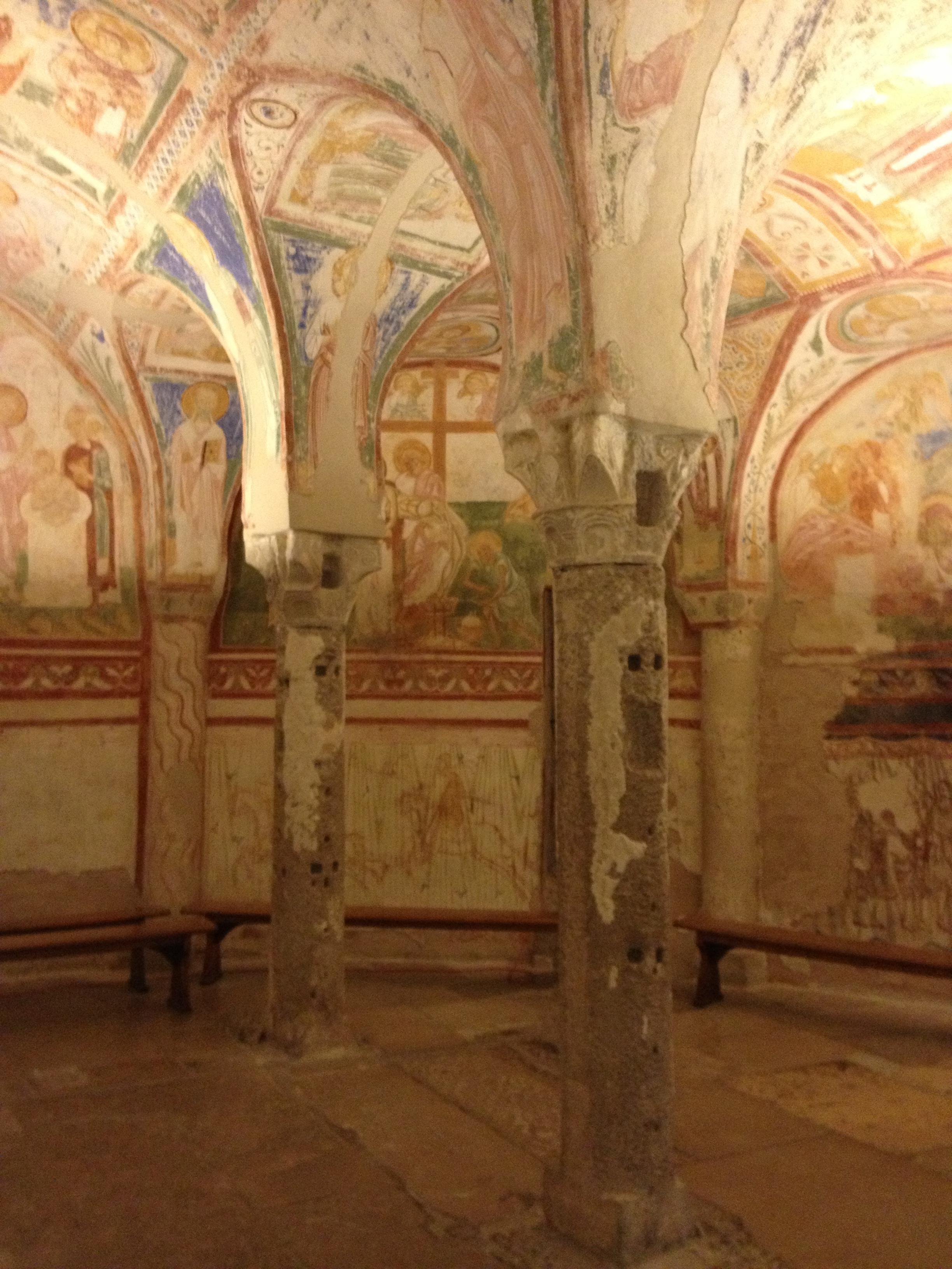 Aquileia's Basilica crypt