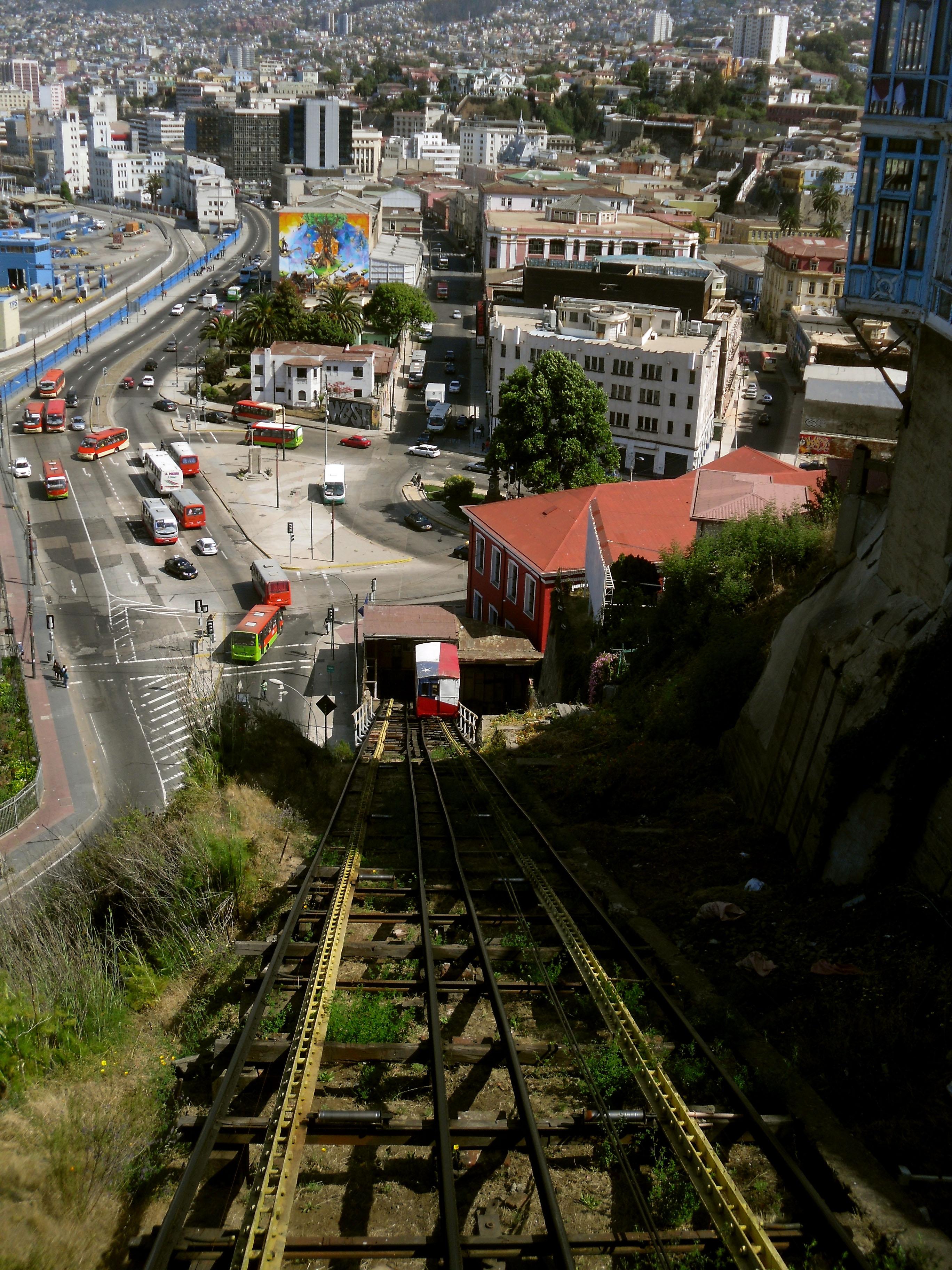 Valparaíso funiculaire