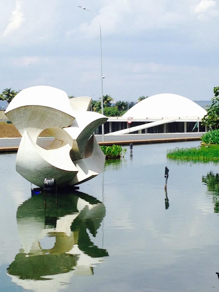 Brasilia Itamaraty palace