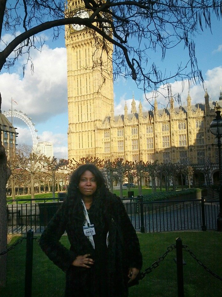 At the Palace of Westminster