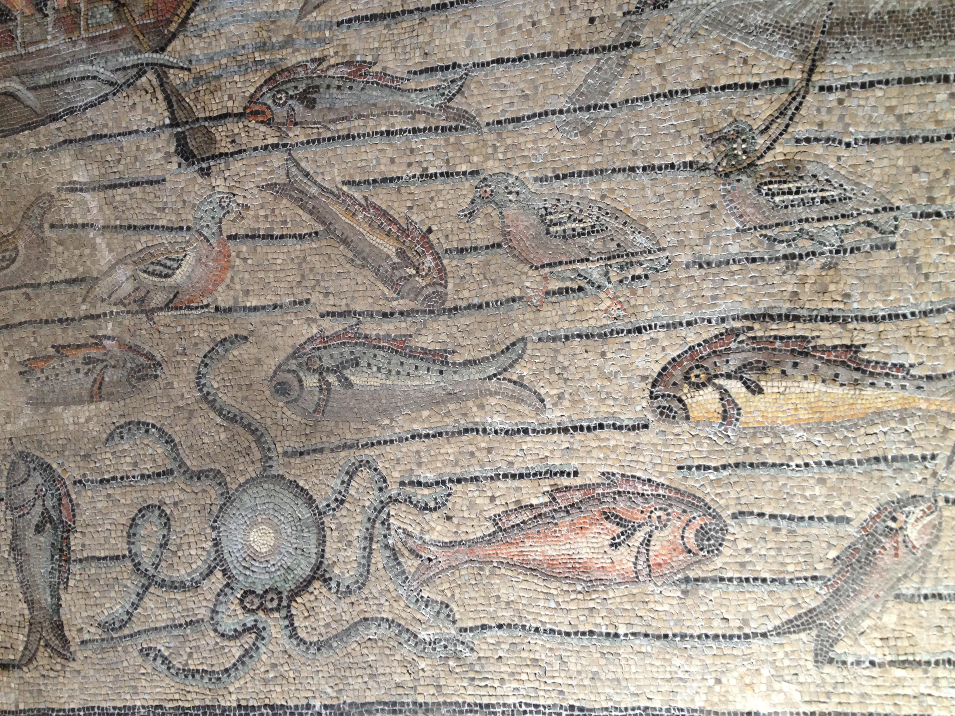 Aquileia's Basilica octopus