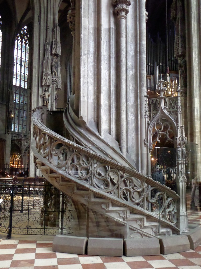 Not to mention an impressive interior, where every corner or a column has its separate story.