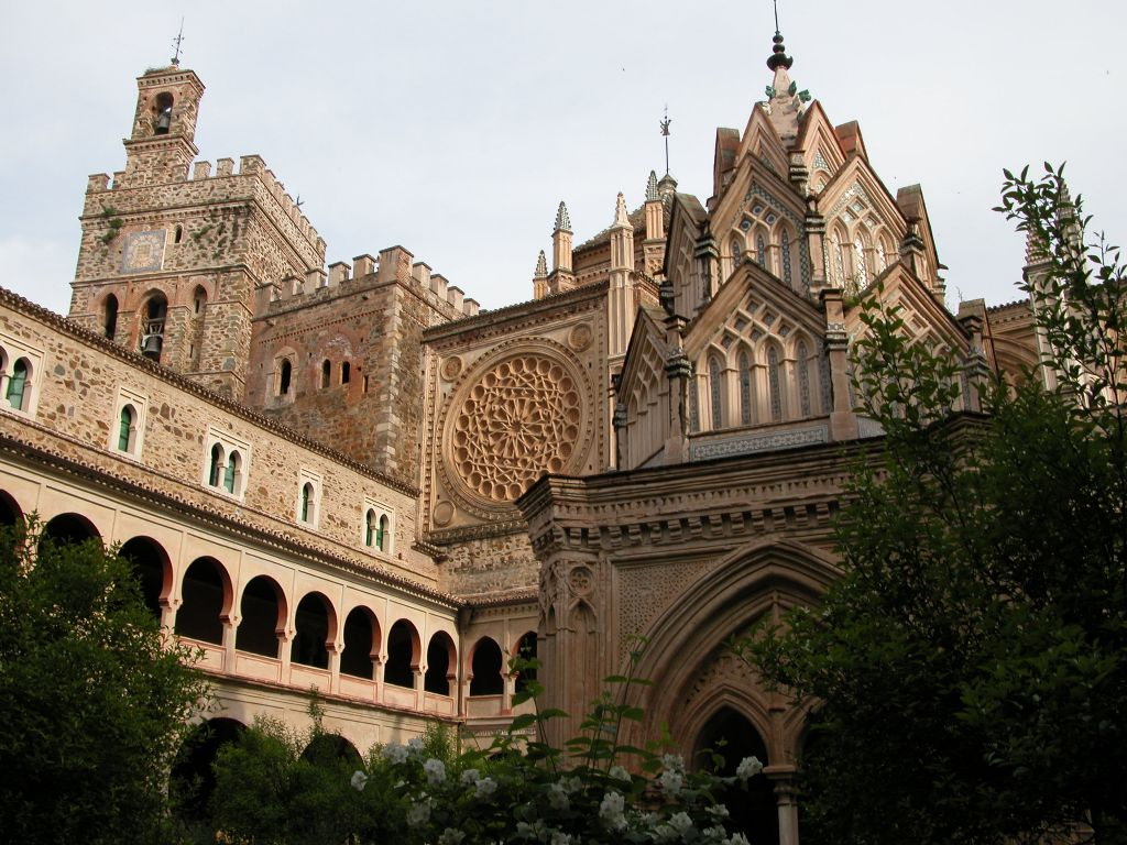 The Gothic Style Church of Santa Maria