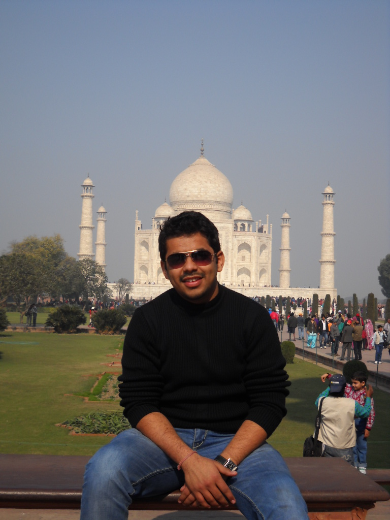 Taj Mahal - India By Shikhar Singh