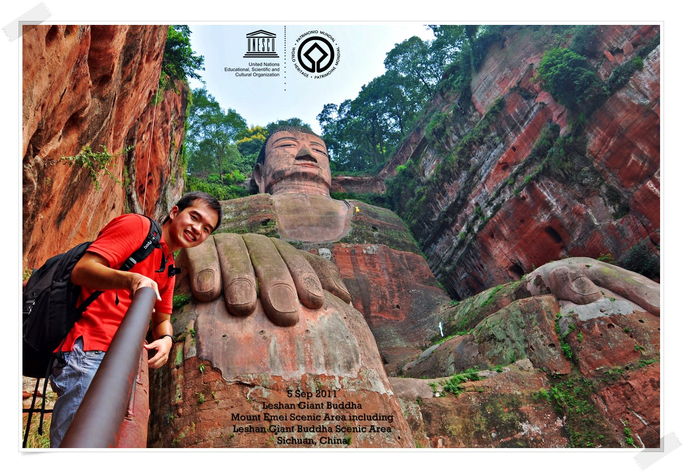 LESHAN GIANT BUDDHA By Thomas shaw
