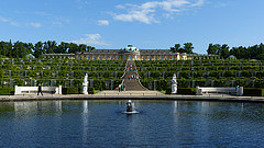 Palaces Gardens in Potsdam