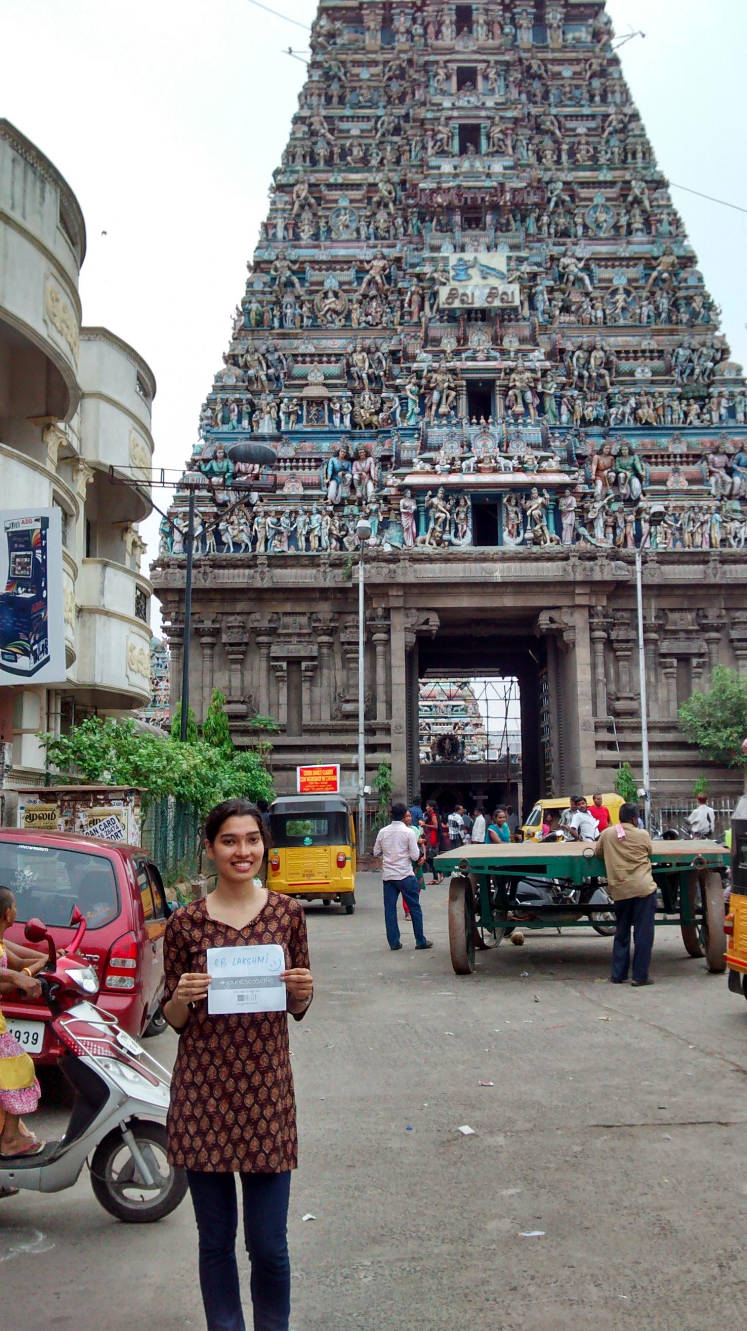Kapaleeshwarar temple Chennai lakshmi