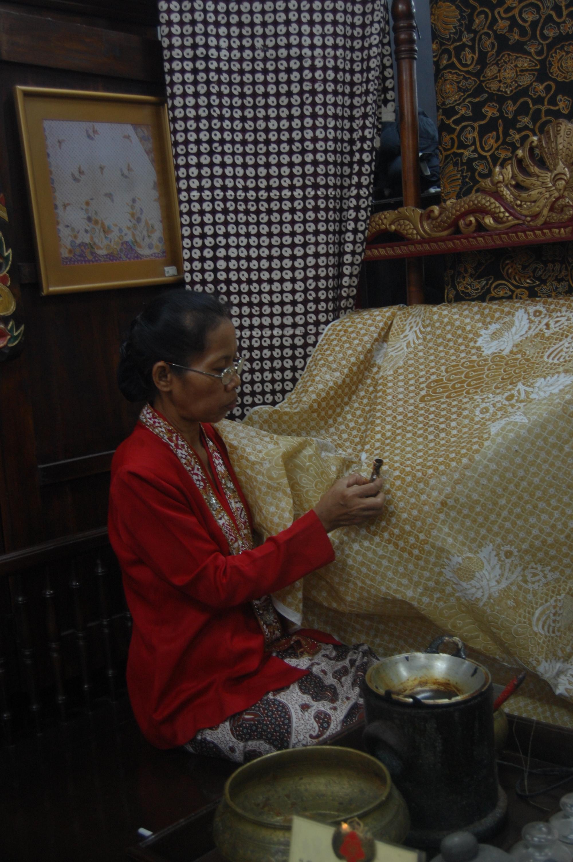 Indonesian Batik - Indonesia By Bernard Joseph Esposo Guerrero