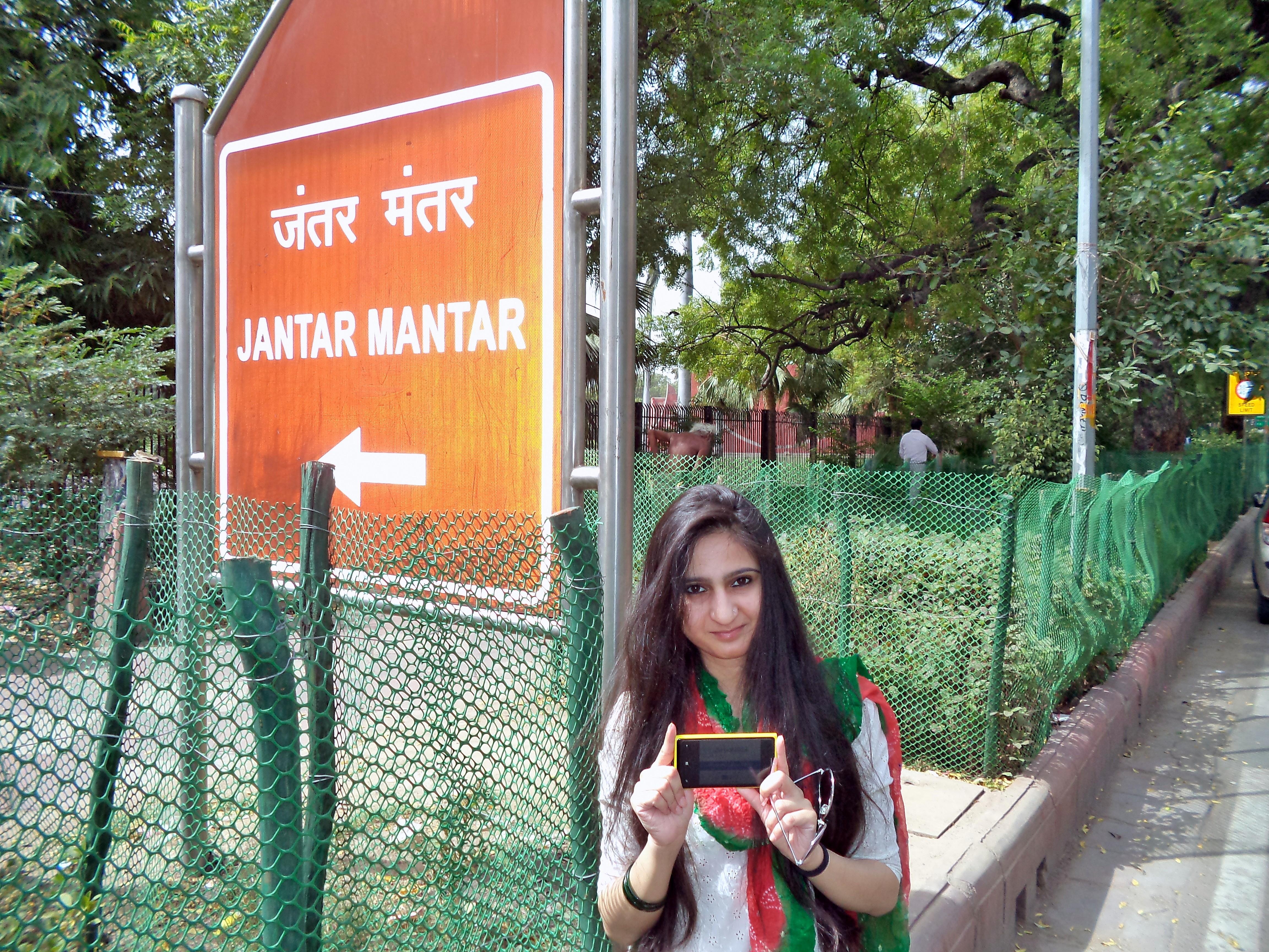 Jantar Mantar, Delhi Zoha Rashid