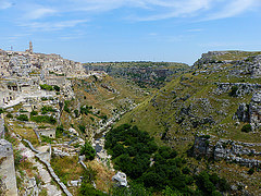 The Sassi and the Park of the Rupestrian Churches of Matera - Italy Trailblazer