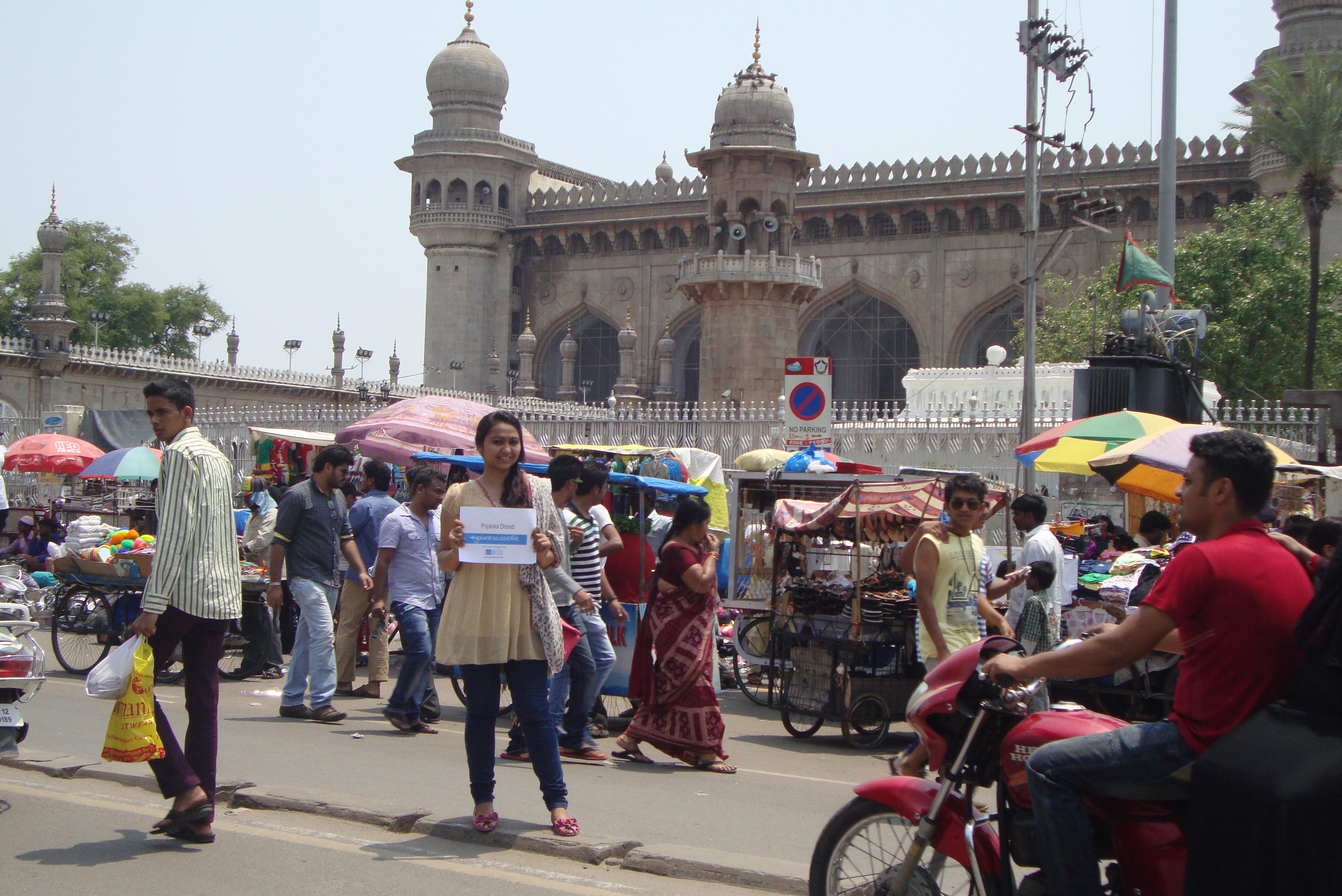 Mecca Masjid - A Magical Mosque Priyanka Dhondi