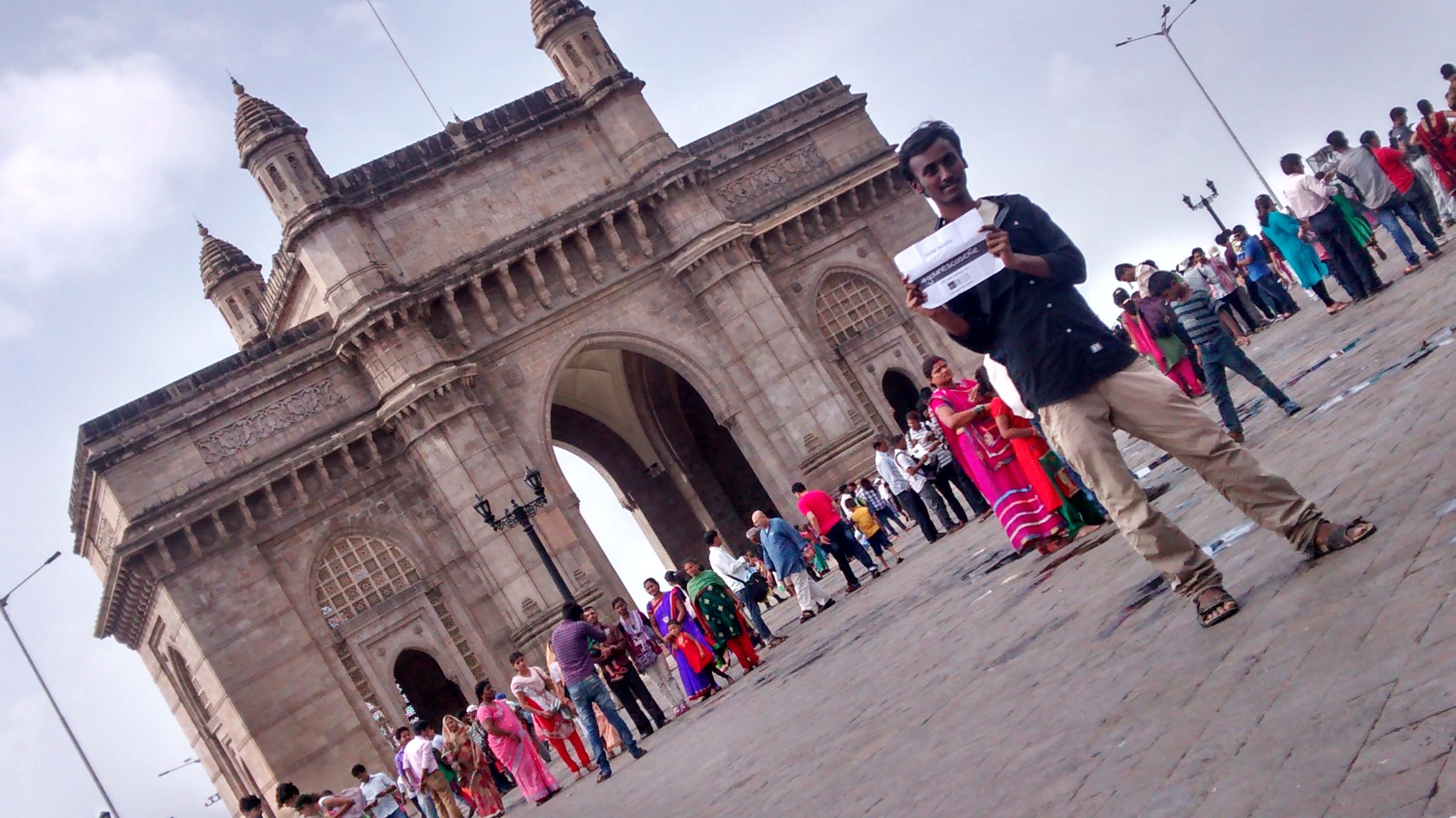 GateWay of india #gounescoselfie#gatewayofIndia