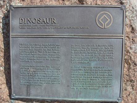 Dino Park sm UNESCO Plaque sm