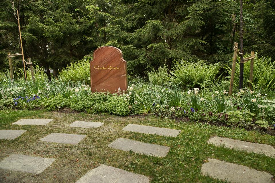Greta Garbo's Grave Skogskyrkogården
