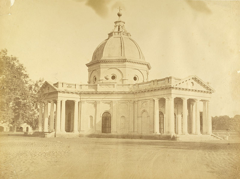 St. James Chruch back in 1858 photographed by Harriet and Robert Christopher Tytler.