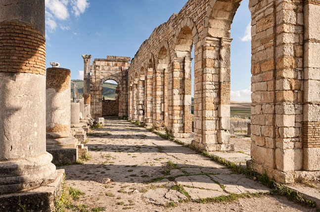 Archaeological Site of Volubilis- a spectacular city