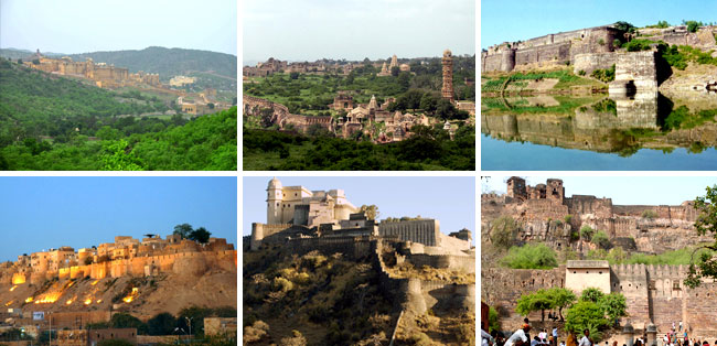 World Heritage Sites in and around Rajasthan